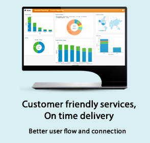 Customer Friendly Services on Time Delivery